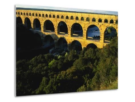 Pont Du Gard, Languedoc, France-Bruno Morandi-Metal Print