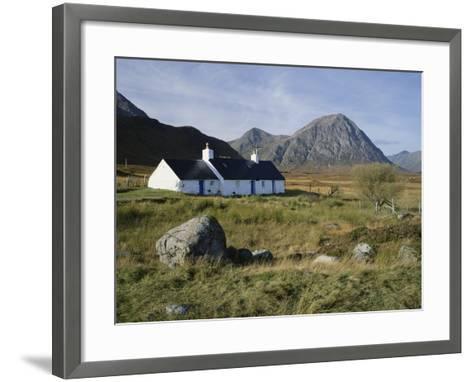 Scotland, Highlands, Glencoe, Croft by Mountains-Roy Rainford-Framed Art Print