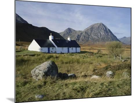 Scotland, Highlands, Glencoe, Croft by Mountains-Roy Rainford-Mounted Photographic Print