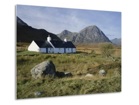Scotland, Highlands, Glencoe, Croft by Mountains-Roy Rainford-Metal Print