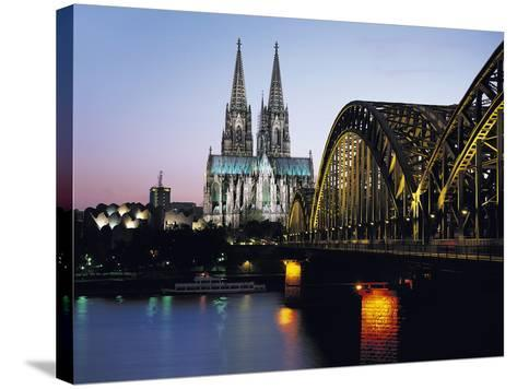 Cathedral, Cologne, Germany-Gavin Hellier-Stretched Canvas Print