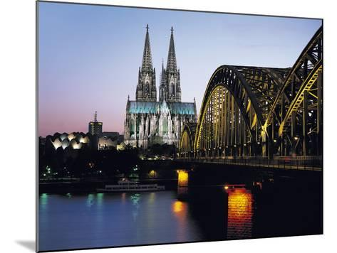 Cathedral, Cologne, Germany-Gavin Hellier-Mounted Photographic Print