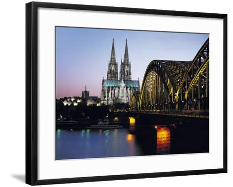 Cathedral, Cologne, Germany-Gavin Hellier-Framed Art Print