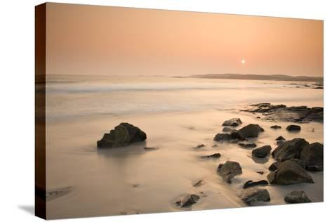 Ballyconneely Beach, Connemara, County Galway, Connacht, Republic of Ireland, Europe-Ben Pipe-Stretched Canvas Print