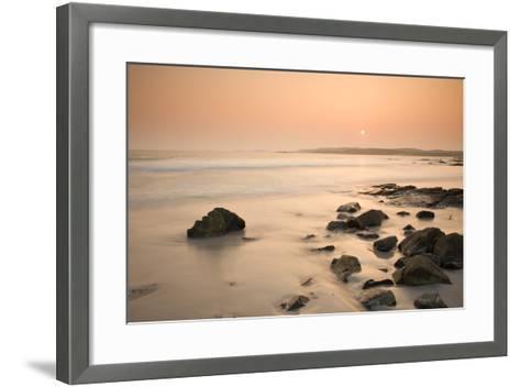 Ballyconneely Beach, Connemara, County Galway, Connacht, Republic of Ireland, Europe-Ben Pipe-Framed Art Print