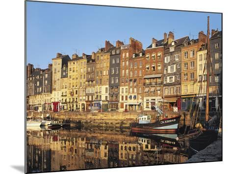 Honfleur, Normandy, France,-Michael Busselle-Mounted Photographic Print