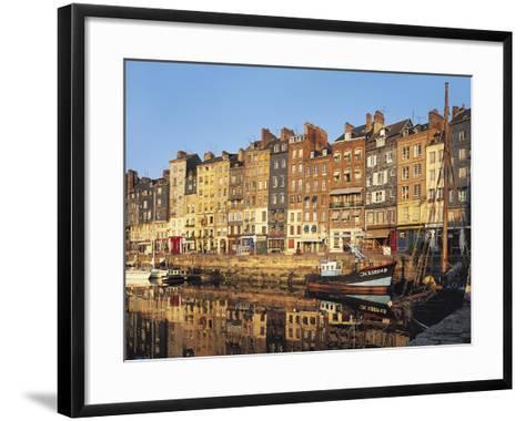 Honfleur, Normandy, France,-Michael Busselle-Framed Art Print