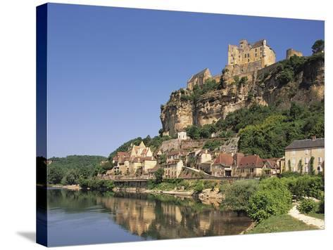 Beynac, Aquitaine, Dordogne, France-Michael Busselle-Stretched Canvas Print