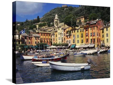 Portofino, Genoa, Italy-Ken Gillham-Stretched Canvas Print