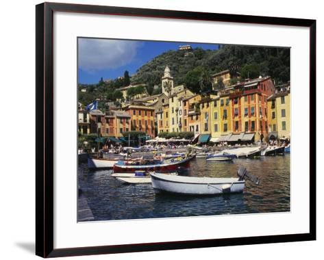 Portofino, Genoa, Italy-Ken Gillham-Framed Art Print
