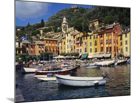 Portofino, Genoa, Italy-Ken Gillham-Mounted Photographic Print