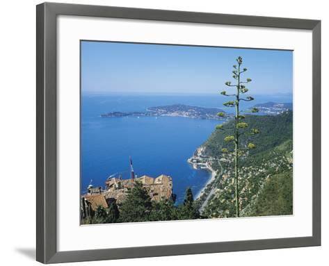 St Jean Cap Ferrat, Cote D'Azur, France-Roy Rainford-Framed Art Print