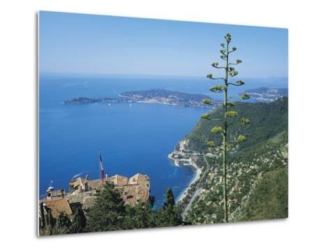 St Jean Cap Ferrat, Cote D'Azur, France-Roy Rainford-Metal Print
