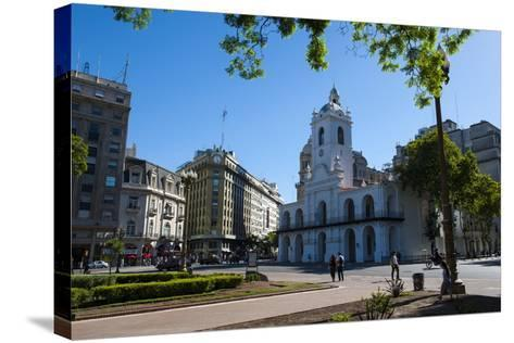 Downtown Buenos Aires, Argentina, South America-Michael Runkel-Stretched Canvas Print