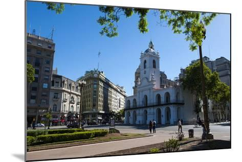 Downtown Buenos Aires, Argentina, South America-Michael Runkel-Mounted Photographic Print
