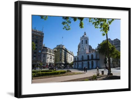 Downtown Buenos Aires, Argentina, South America-Michael Runkel-Framed Art Print