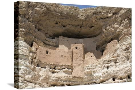 Cliff Dwelling of Southern Sinagua Farmers-Richard Maschmeyer-Stretched Canvas Print