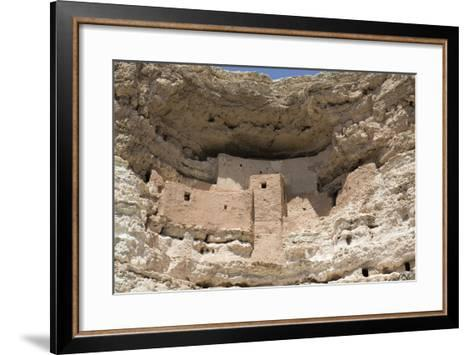 Cliff Dwelling of Southern Sinagua Farmers-Richard Maschmeyer-Framed Art Print