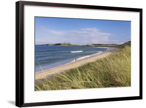 Dunstanburgh Castle and Embleton Beach-Markus Lange-Framed Art Print