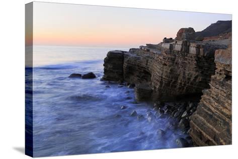 Coastline in Cabrillo National Monument-Richard Cummins-Stretched Canvas Print