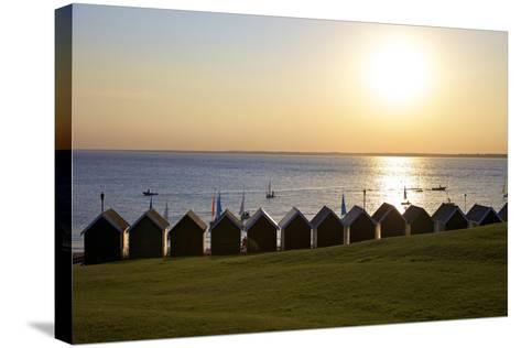 Gurnard Beach, Gurnard, Isle of Wight, England, United Kingdom, Europe-Neil Farrin-Stretched Canvas Print