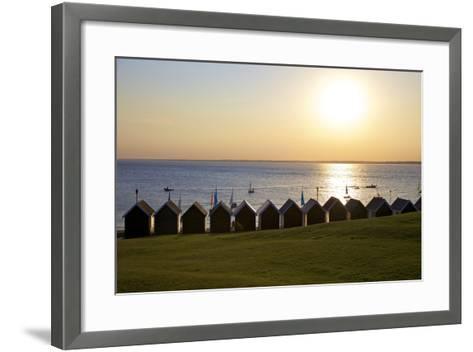 Gurnard Beach, Gurnard, Isle of Wight, England, United Kingdom, Europe-Neil Farrin-Framed Art Print