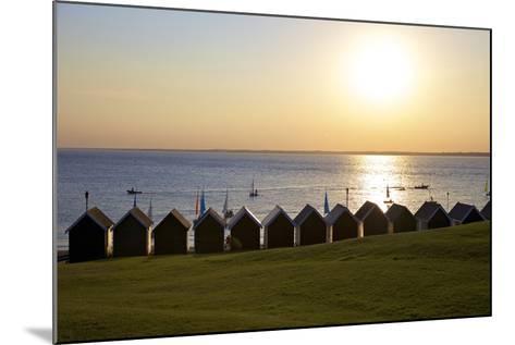 Gurnard Beach, Gurnard, Isle of Wight, England, United Kingdom, Europe-Neil Farrin-Mounted Photographic Print