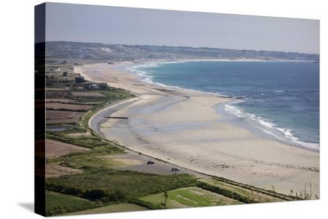 Beaches on St. Ouen's Bay, Jersey, Channel Islands, United Kingdom, Europe-Roy Rainford-Stretched Canvas Print