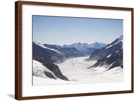 Aletsch Glacier, UNESCO World Heritage Site, Kleine Scheidegg-Angelo Cavalli-Framed Art Print
