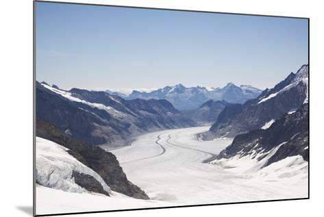 Aletsch Glacier, UNESCO World Heritage Site, Kleine Scheidegg-Angelo Cavalli-Mounted Photographic Print