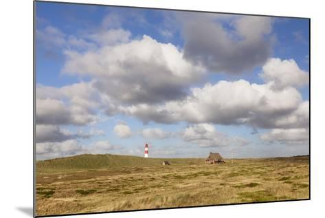 Lighthouse List Ost and Frisian House-Markus Lange-Mounted Photographic Print