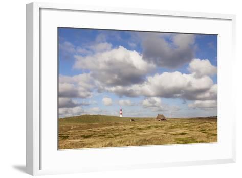 Lighthouse List Ost and Frisian House-Markus Lange-Framed Art Print