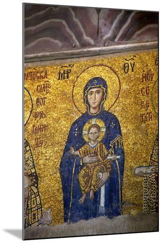 Mosaic of the Virgin and Child-Neil Farrin-Mounted Photographic Print
