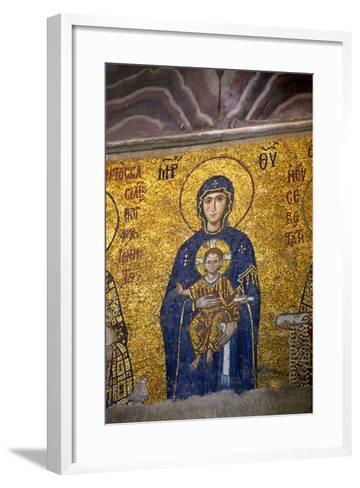 Mosaic of the Virgin and Child-Neil Farrin-Framed Art Print