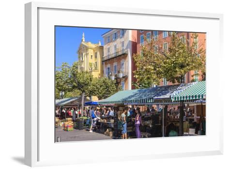 The Morning Fruit and Vegetable Market-Amanda Hall-Framed Art Print