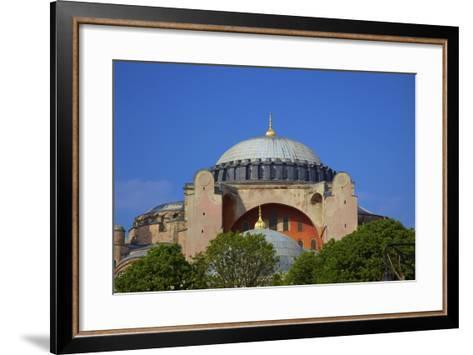 Hagia Sophia (Aya Sofya Mosque) (The Church of Holy Wisdom)-Neil Farrin-Framed Art Print