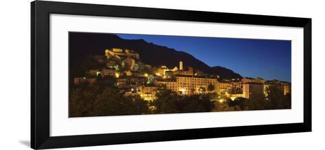 Corte, Corsica, France, Mediterranean, Europe-Markus Lange-Framed Art Print