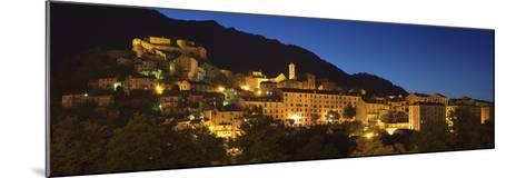 Corte, Corsica, France, Mediterranean, Europe-Markus Lange-Mounted Photographic Print
