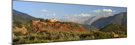The Hotel Kasbah Bab Ourika, Ourika Valley, Atlas Mountains, Morocco, North Africa, Africa-Stuart Black-Mounted Photographic Print