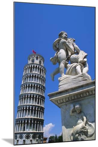Leaning Tower of Pisa, Pisa, Italy-Hans Peter Merten-Mounted Photographic Print