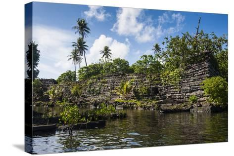 Ruined City of Nan Madol-Michael Runkel-Stretched Canvas Print