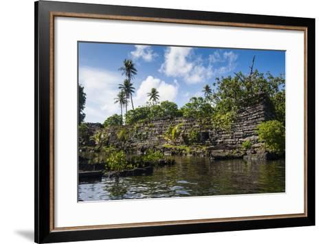 Ruined City of Nan Madol-Michael Runkel-Framed Art Print