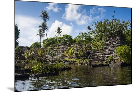 Ruined City of Nan Madol-Michael Runkel-Mounted Photographic Print