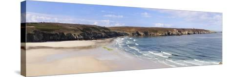 View from Pointe Du Van over the Baie Des Trepasses to the Pointe Du Raz-Markus Lange-Stretched Canvas Print