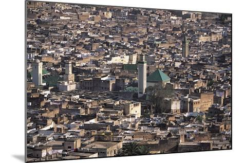 Medina, Fez, Morocco-Adam Woolfitt-Mounted Photographic Print
