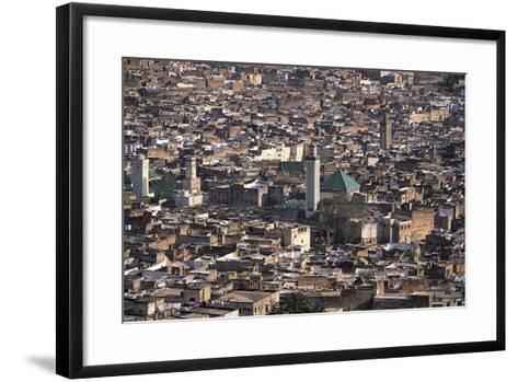 Medina, Fez, Morocco-Adam Woolfitt-Framed Art Print