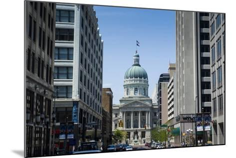 Indiana Statehouse, the State Capitol Building, Indianapolis-Michael Runkel-Mounted Photographic Print