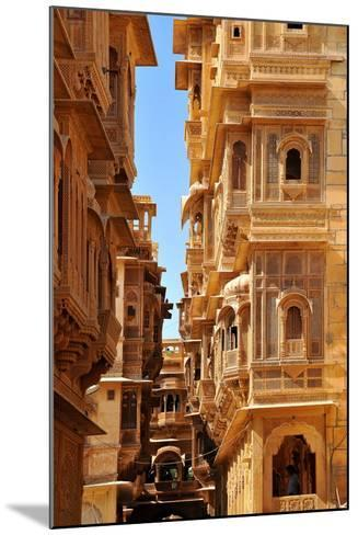 Patwa Havelis, Renowned Private Mansion in Jaisalmer, Rajasthan, India, Asia-Godong-Mounted Photographic Print