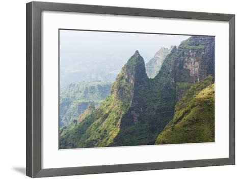 Simien Mountains National Park, UNESCO World Heritage Site, Amhara Region, Ethiopia, Africa-Gabrielle and Michael Therin-Weise-Framed Art Print