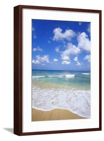 Paynes Bay, Barbados, Caribbean-Hans Peter Merten-Framed Art Print